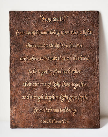 Two Souls Plaque