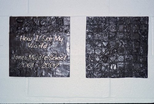 Jones Middle School Bronze Tile Project
